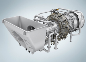 Industriegasturbine SGT-800 von Siemens / The SGT-800 industrial gas turbine from Siemens